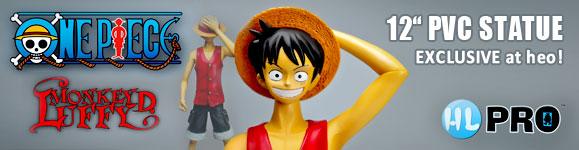 Onve Piece PVC Statue Monkey D. Luffy