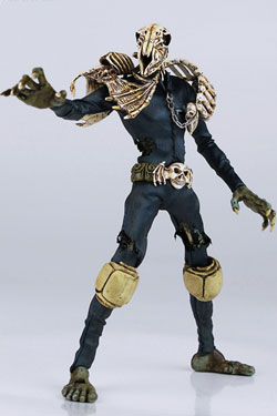 2000 AD Action Figure 1/12 Judge Mortis 17 cm