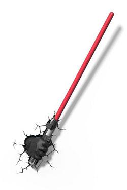 Star Wars 3D LED Light Darth Vader Light Saber