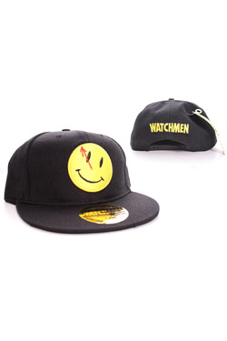 Watchmen Adjustable Cap Smiley Logo black