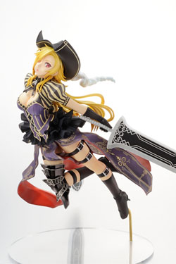 Hyakka Ryoran Samurai Girls PVC Statue 1/8 Charles de D'Artagnan 23 cm