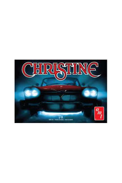 Christine Plastic Modelkit 1/25 1958 Plymouth Belvedere molded in red