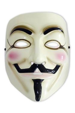 V for Vendetta Replica Guy Fawkes Mask