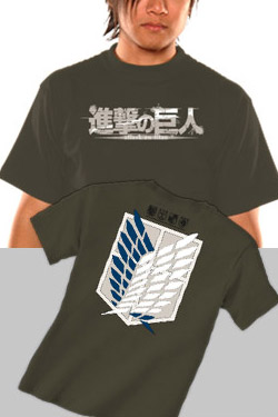 Attack on Titan T-Shirt Scout Size M