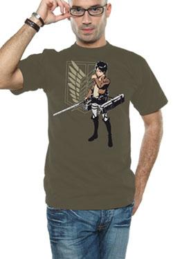 Attack on Titan T-Shirt Eren Flap Size XL