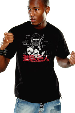 Attack on Titan T-Shirt Titan Size XL