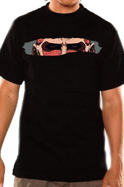 Attack on Titan T-Shirt Titan Eyes Size XL