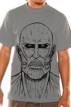 Attack on Titan T-Shirt Titan Sketch Size S