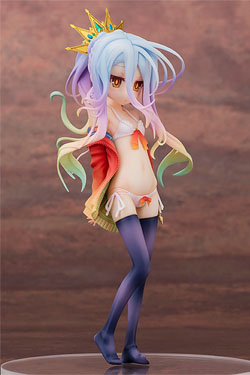 No Game No Life Statue 1/7 Shiro Swimsuit Ver. 20 cm