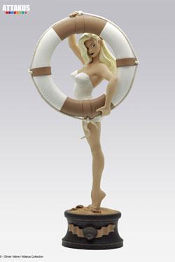 Femmes d'Auteurs Statue Vicki Riviera by Olivier Vatine 55 cm