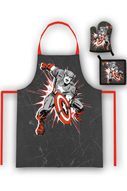 Marvel Comics Kitchen-Set Captain America