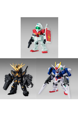 Mobile Suit Gundam Gashapon Figures 8 cm Display 02 (12)
