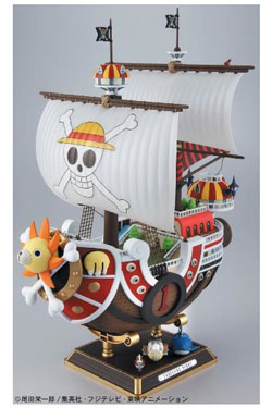 One Piece Grand Ship Collection Plastic Model Kit Thousand Sunny New World Ver. 30 cm