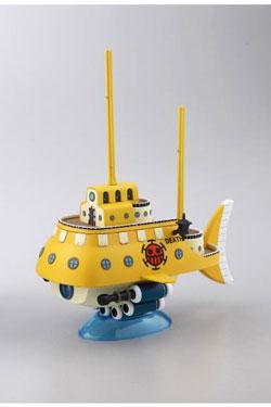 One Piece Grand Ship Collection Plastic Model Kit Trafalgar Law's Submarine 15 cm