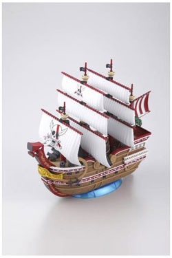 One Piece Grand Ship Collection Plastic Model Kit Red Force 15 cm