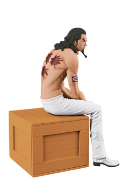 One Piece Body Calender Vol. 1 Figure Rob Lucci A White Pants Ver. 12 cm
