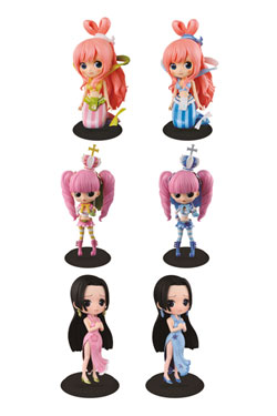 One Piece Q Posket Figures 14 cm Assortment Girl Season Special (16)