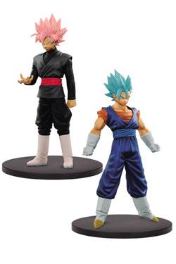 Dragonball Super Warriors DXF Figures 18 cm Super Saiyan Blue Vegito & Goku Black Assortment (2)