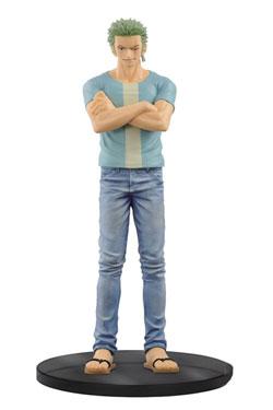 One Piece Jeans Freak Figure Roronoa Zoro 17 cm