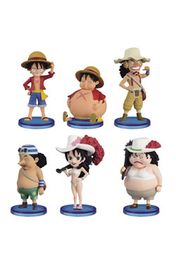 One Piece WCF ChiBi Figures 7 cm Assortment Before After (10)