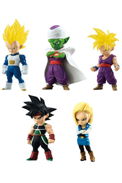 Dragonball Z Figures 6 cm The Adverge Collection Vol. 2 Assortment (10)