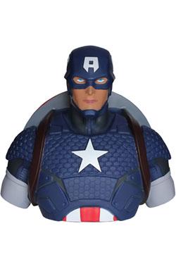 Marvel Comics Coin Bank Captain America 22 cm