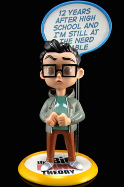 The Big Bang Theory Q-Pop Figure Leonard Hofstadter 9 cm