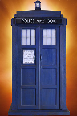 Doctor Who Diorama 1/6 10th Doctor TARDIS 51 cm