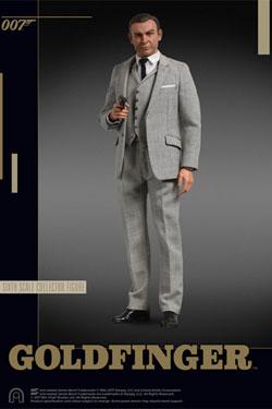 James Bond Goldfinger Collector Figure Series Action Figure 1/6 James Bond (Grey Suit) 30 cm