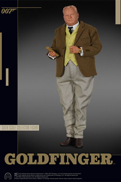 James Bond Goldfinger Collector Figure Series Action Figure 1/6 Auric Goldfinger 30 cm