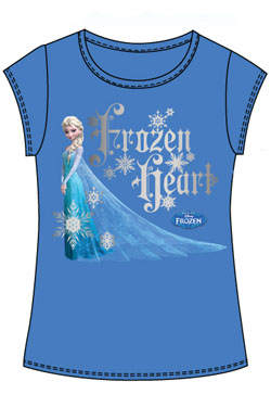 Frozen Kids T-Shirt Frozen Heart Size Kids S
