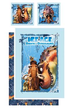 Ice Age 3 Duvet Set Dinosaur 135 x 200 cm