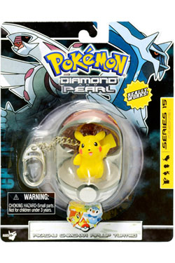 Pokemon Diamond and Pearl PVC Keychain Pikachu