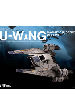 Star Wars Rogue One Egg Attack Floating Model with Light Up Function U-Wing 14 cm