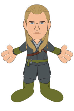 Lord of the Rings Plush Figure Legolas 25 cm