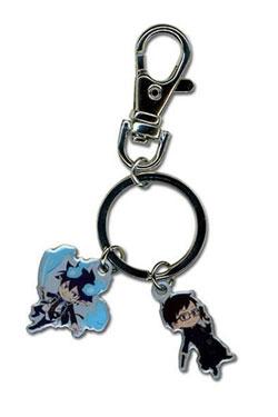 Blue Exorcist Metal Keychain Rin & Yukio 4 cm