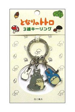 My Neighbor Totoro Metal Keychain Group A 10 cm