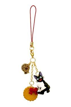 Kiki's Delivery Service Strap Charm Jiji & Cookie 13 cm