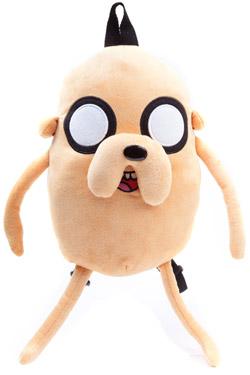 Adventure Time Plush Backpack Jake