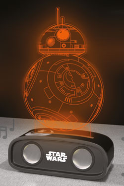 Star Wars Bluetooth Sound Reactive Speaker BB-8 26 cm