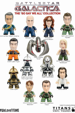 Battlestar Galactica Trading Figure So We Say All Collection Titans Display 8 cm (20)