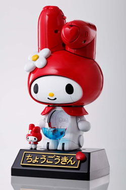 My Melody Chogokin Diecast Action Figure Red Ver. 13 cm