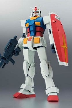 Mobile Suit Gundam Robot Spirits Action Figure Side MS RX-78-2 Gundam Ver. A.N.I.M.E. 13 cm