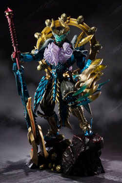 Monster Hunter S.H. Figuarts Action Figure Monster Hunter Evil God Awakening Zinogre 16 cm