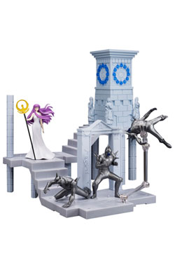 Saint Seiya D.D.P. Action Figure -Goddess Athena and Soldiers- Fire Clock of the Sanctuary 10 cm