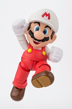 Super Mario Bros. S.H. Figuarts Action Figure Fire Mario Tamashii Web Exclusive 10 cm