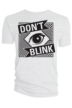Doctor Who T-Shirt Don?t Blink Size S