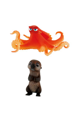 Finding Dory Gift Box with 2 Figures Otter & Hank 6 cm