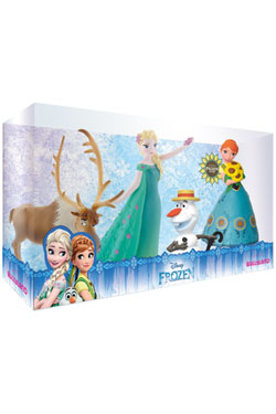 Frozen Fever Gift Box with 4 Figures
