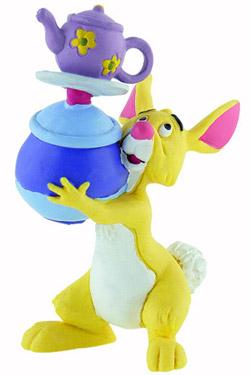 Winnie The Pooh Figure Rabbit with Pots 8 cm
